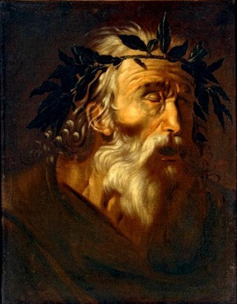 A portrait of Homer