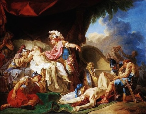 Hector Patroclus 1769 Joseph Barthelemy Lebouteux