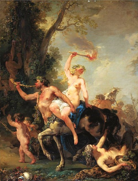 Jacques Philippe Caresme - Bacchanal