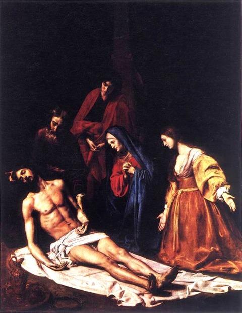 The Descent from the Cross - Nicolas Tournier 17th