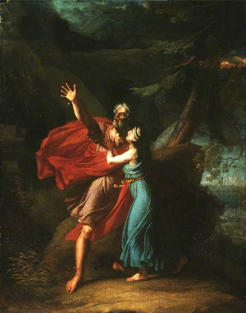 Thévenin, Charles  1764-1838  Oedipus and Antigone
