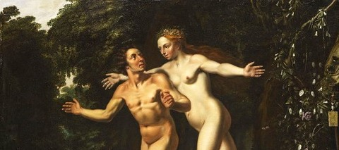 Hermaphroditus And Salmacis by Louis Finson -
