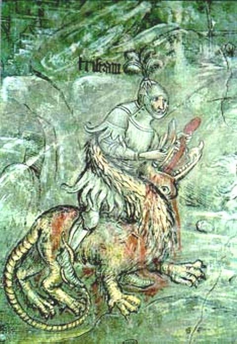 Runkelstein Castle-tristan
