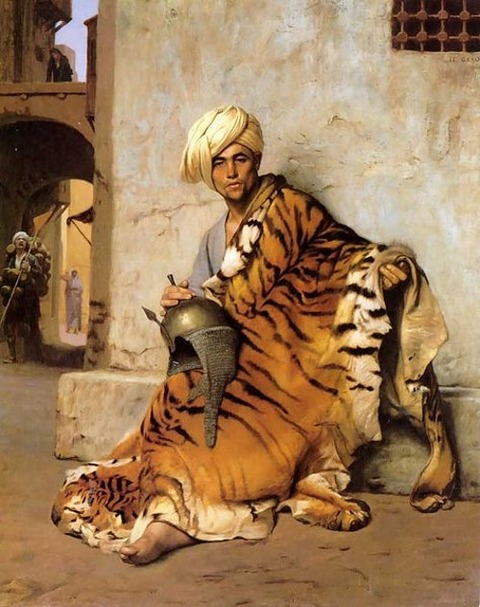 Pelt Merchant of Cairo  Jean-Léon Gérôme 1869