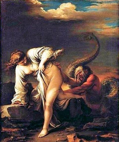 Salvator Rosa - Glaucus şi Scylla