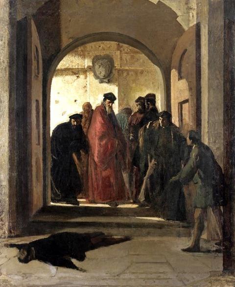 Cristiano Banti  Discovery  Corpse  Lorenzino De Medici