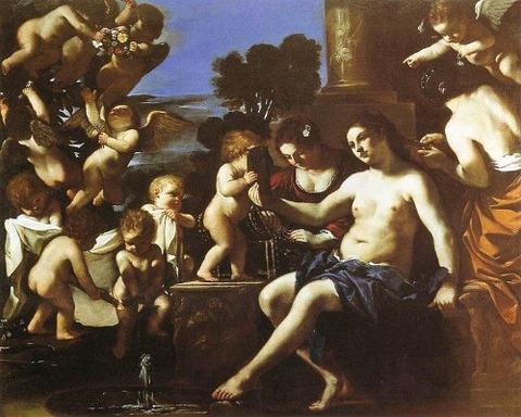 Guercino - The Toilet of Venus 1622-23