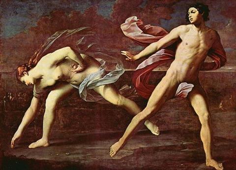 Atalanta and Hippomenes, Guido Reni, 1622–25