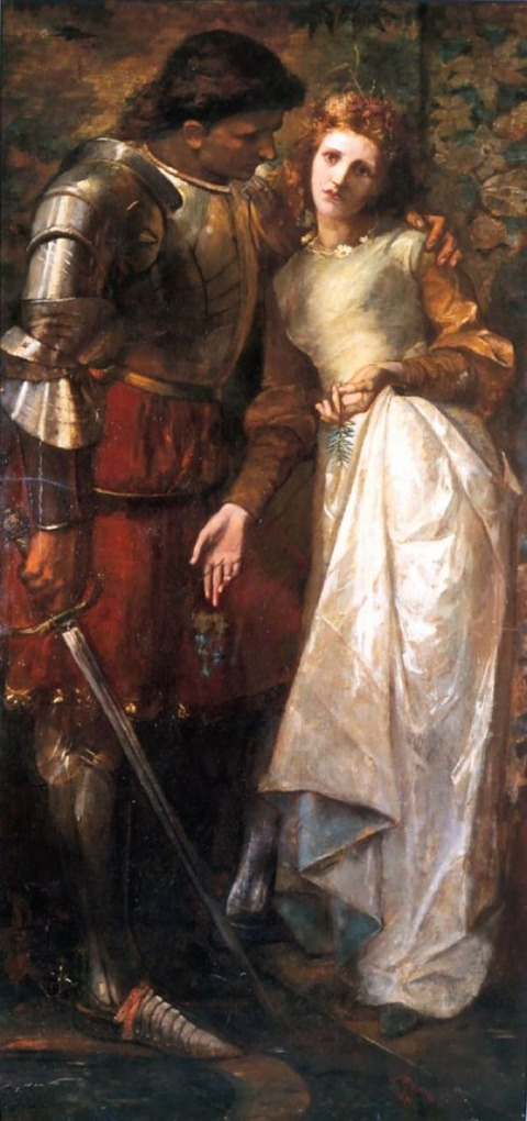 Ophelia and Laertes by William Gorman Wills