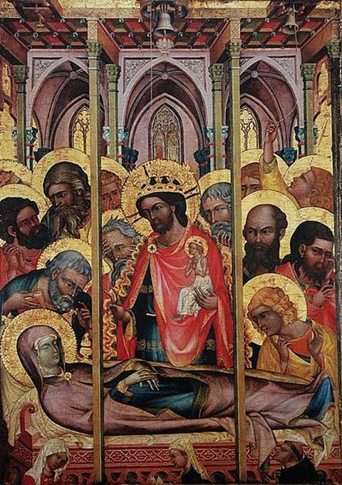 Dormition of the Virgin from Košátky