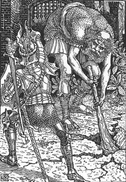 Walter Crane King Arthur