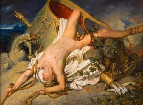 Joseph_Désiré_Court-The_Death_of_Hippolytus 1825