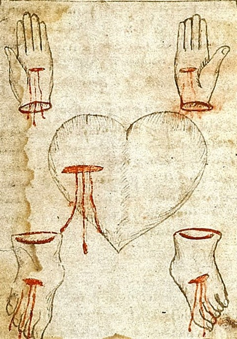 Page from a Medical Religious Miscellany English 1475-1550