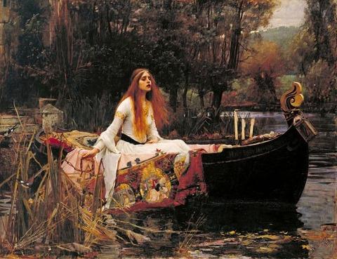 John William Waterhouse - The Lady of Shalott 1888