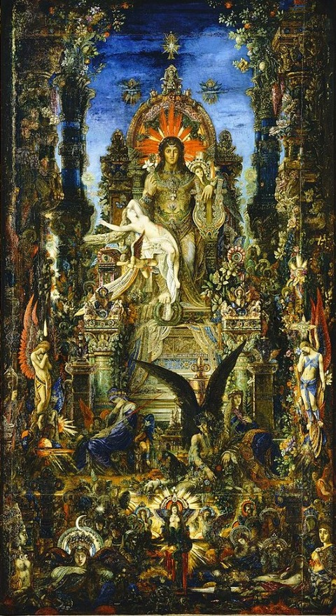Jupiter and Semele Gustave Moreau 1894-95