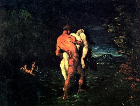 Paul Cézanne 1867 略奪