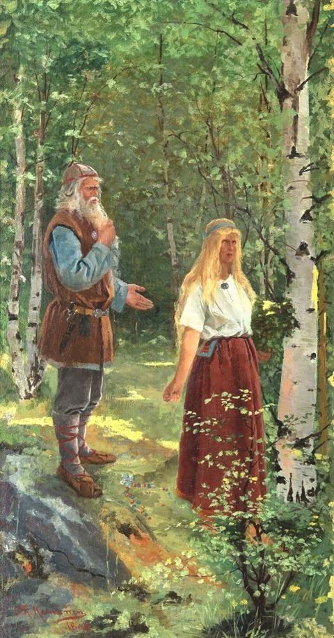 Sigfrid August Keinänen 1896