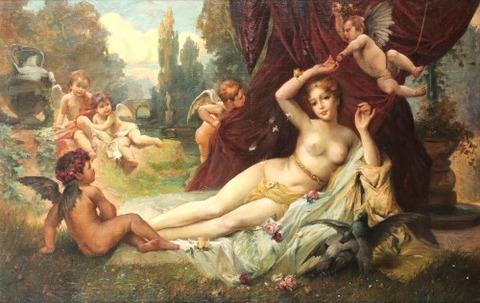 Hans Zatzka- Epiphany of Spring