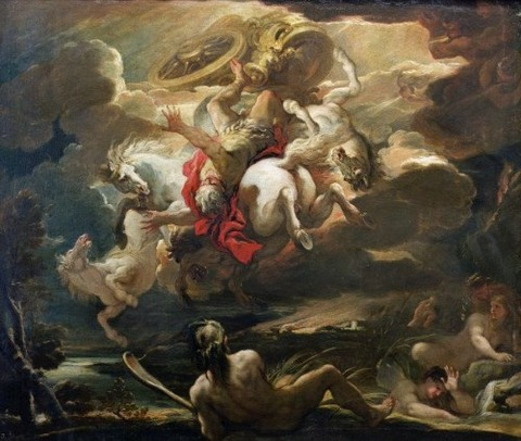 Luca Giordano - The Fall of Phaeton