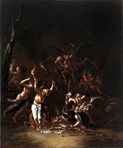 The Witch's Sabbath, 1635-54
