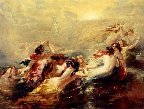 Frost, William Edward - Sirens And The Night 19th