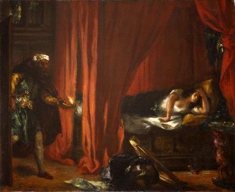 Eugene Delacroix  1847-49