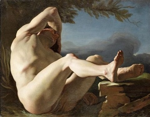 The Sleep Of Endymion by Nicolas-Guy Brenet