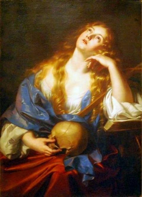 Nicolas Régnier Penitent Mary Magdalene 17th