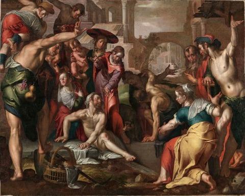The Raising of Lazarus 1605 Joachim Wt ewa el