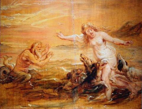 The Metamorphosis of Scylla  Rubens