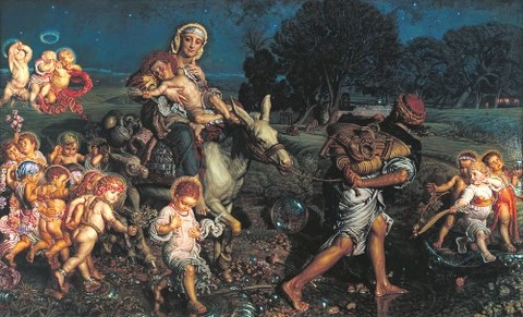 Triumph of the Innocents by William Holman Hunt  1883