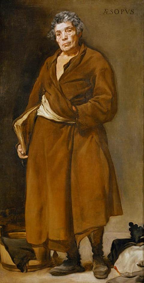 Velázquez - Esopo 1638