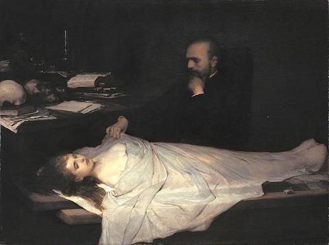 The Anatomist Gabriel von Max 1869