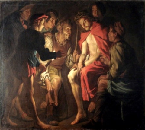 Mathias_Stom  Cristo_deriso (1640)