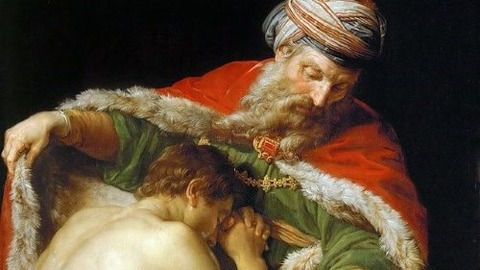 Pompeo_Batoni  Parable of the Prodigal Son - コピー