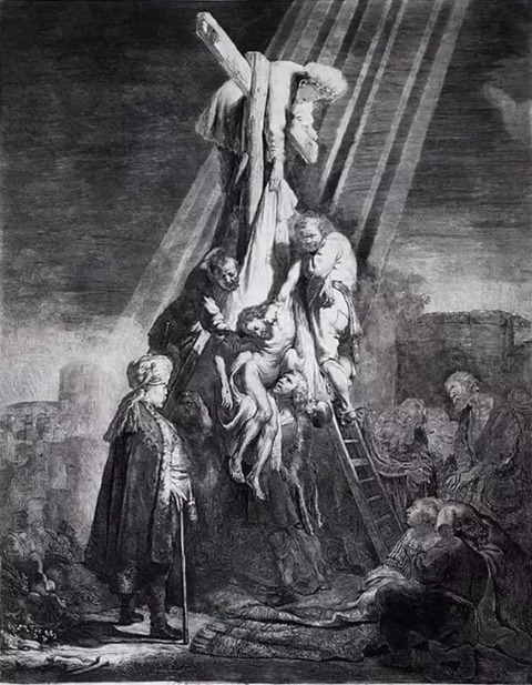 Rembrandt - The Descent from the Cross, 1633