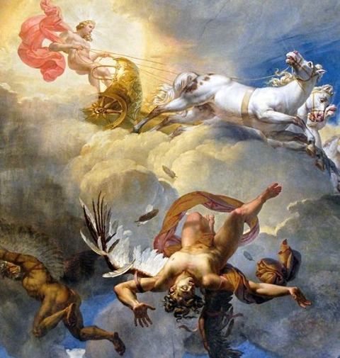 Fall of Icarus by Blondel