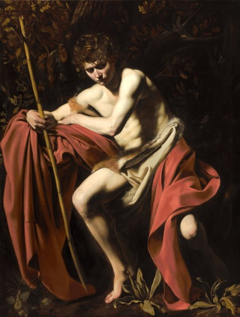 John the Baptist (John in the Wilderness) Caravaggio, 1604
