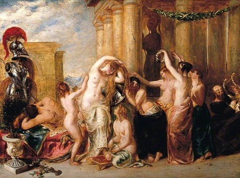 William Etty  The Toilet of Venus 1787-1849