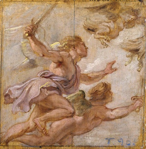 Peter Paul Rubens - The Persecution of the Harpies, 1636
