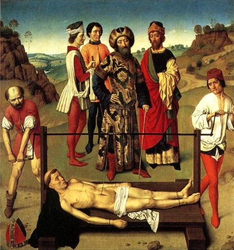 Martyrdom Of St Erasmus Central Panel Dirk Bouts