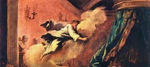 Sebastiano Ricci  The Dream of Aesculapius  1718 -