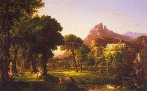 Thomas Cole Dream of Arcadia  1838