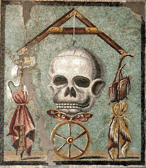 Mosaic from Pompeii  30-14