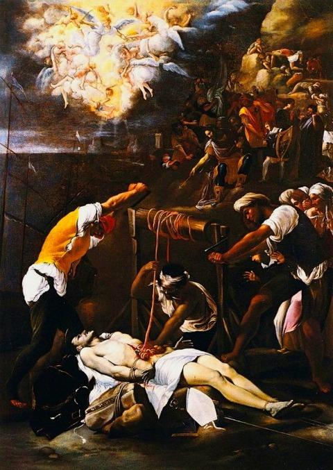 Orazio Borgianni, The Martyrdom of Saint Erasmus, c. 1613-4
