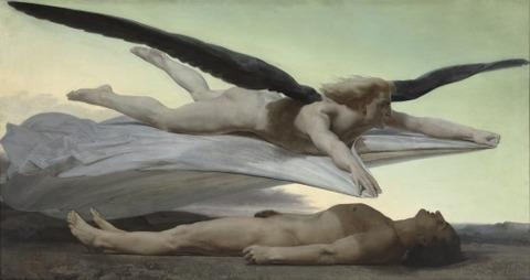 William-Adolphe Bouguereau - Égalité devant la mort, 1848