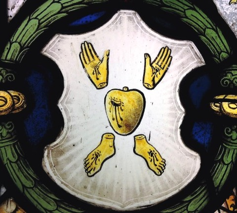 Composite Window of  Stained Glass English 15th