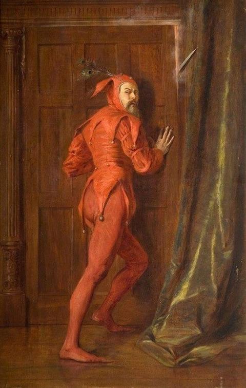 John Pettie (1839–1893) Mephistopheles