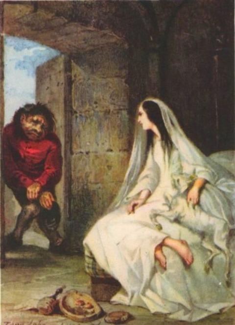 Tony Zhoanno 1803-52 Esmeralda e Quasimodo