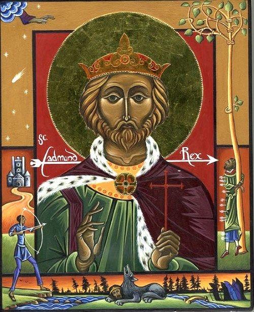 聖エドマンド(エドモンド)殉教王...